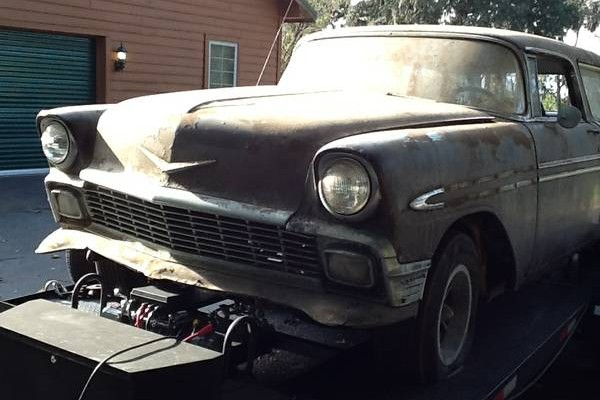 Just Add Money: 1956 Chevy Nomad