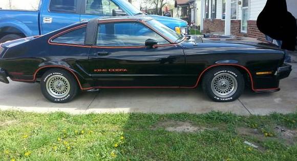 King Cobra 1978 Ford Mustang