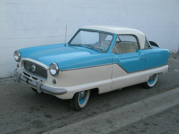 Car Lot For Sale >> Baby Blue 1957 Nash Metropolitan
