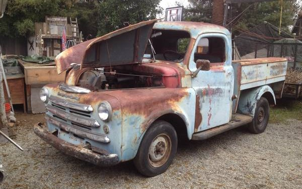 Raspberry patch find 1949 dodge truck for 1949 dodge 5 window pickup truck