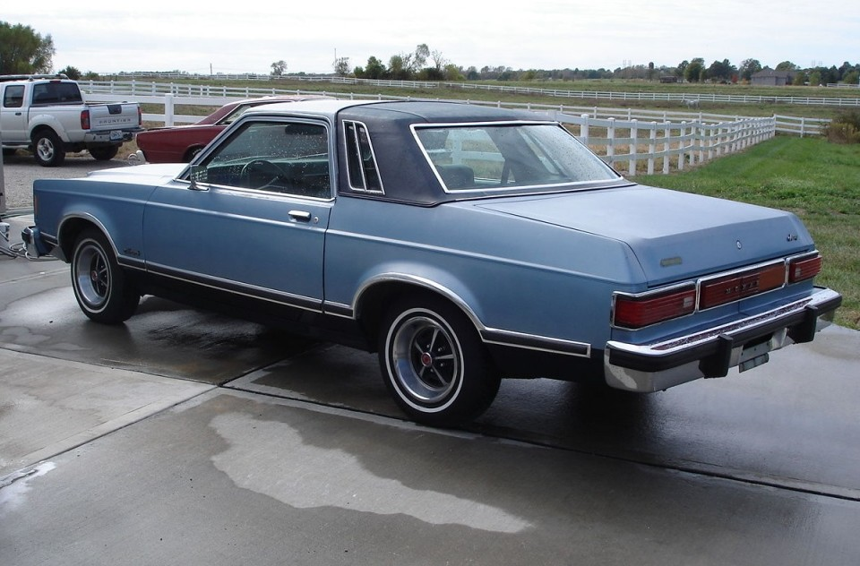 1979 Mercury Monarch Church Car