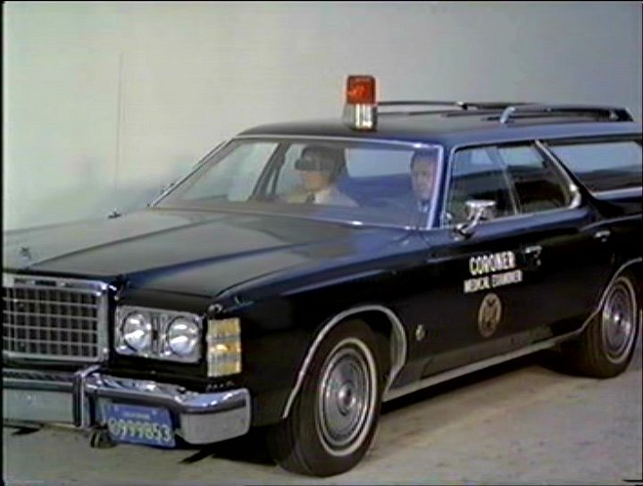 1986 Ford LTD Wagon: Coroner's Car