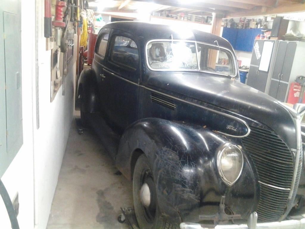 Needs To Be Saved: 1939 Ford Sedan