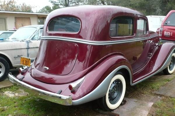 Beautiful 1934 Hudson Parts Car
