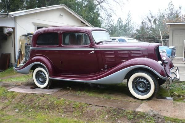 Craigslist Com Sacramento >> Beautiful 1934 Hudson Parts Car?