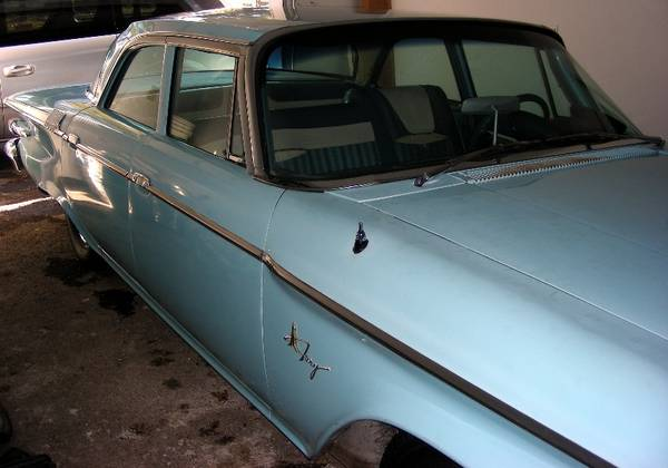 Fashionable Driver: 1961 Plymouth Fury