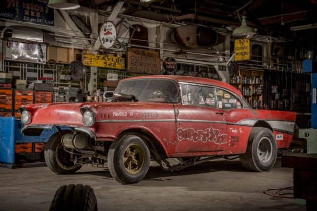 Amazing 1957 Chevy Gasser Find