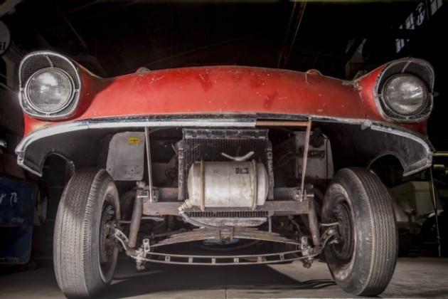 Amazing 1957 Chevy Gasser Find