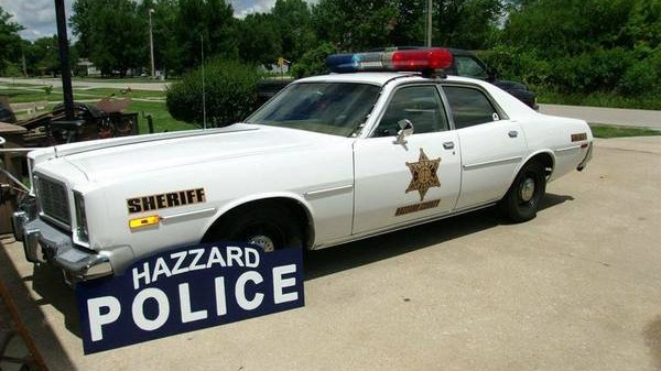 Dukes Them Dukes Rosco P Coltrane S Patrol Car