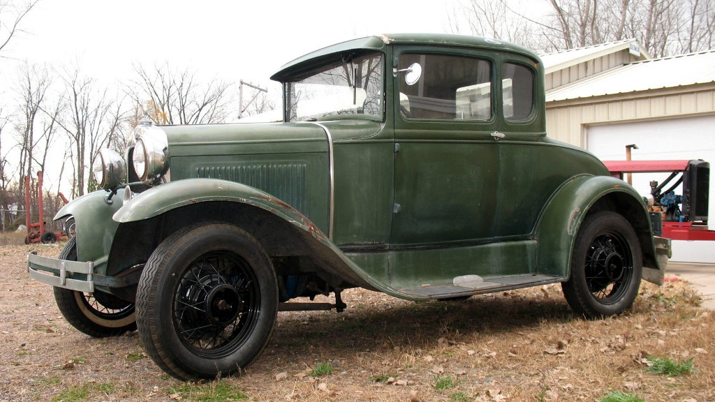 85 Year Old Paint: 1930 Ford Model A