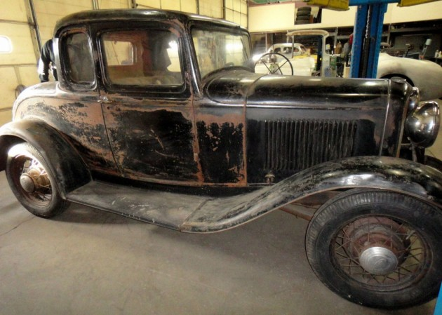 Hot rod potential 1932 ford 5 window coupe for 1932 ford five window coupe project for sale