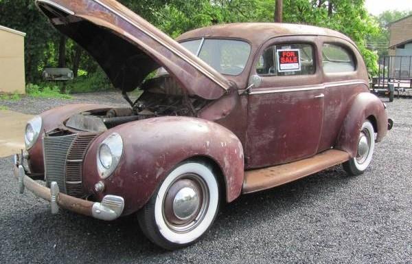Barn Fresh: 1940 Ford Tudor