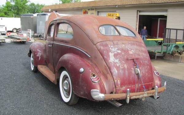 1940 ford rear 600 375 1939 40 ford tudor sedans pinterest. Black Bedroom Furniture Sets. Home Design Ideas
