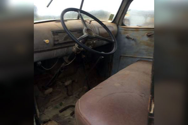 still ready to work 1946 chevy farm truck. Black Bedroom Furniture Sets. Home Design Ideas