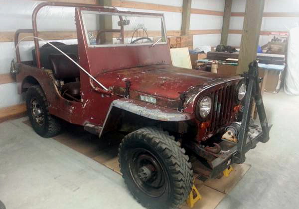 Willys Jeep Truck For Sale >> Rusty Project: 1946 Willys Jeep CJ2A