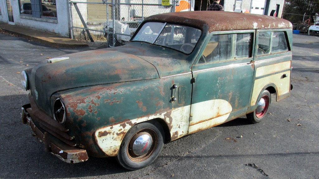 Cars For Sale In Arkansas >> 56 Years Of Storage: 1949 Crosley Station Wagon