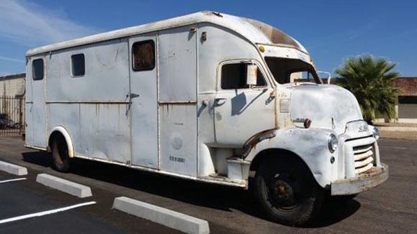The Bookmobile: 1951 GMC COE