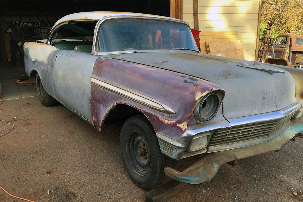 Sports Coupe Project: 1956 Chevrolet Bel Air