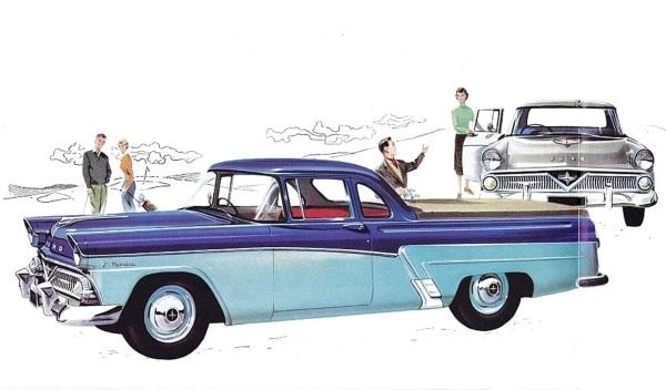 Down Under Truck: 1958 Ford Mainline Ute