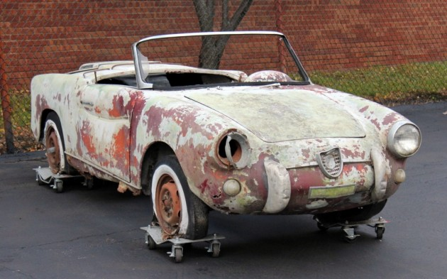 1959 Abarth 750 Spider
