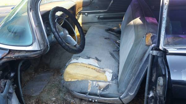 1959 Buick Electra Interior