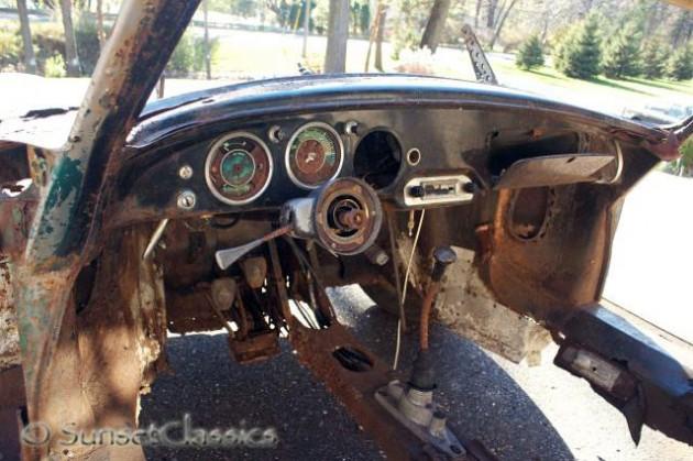 1960 Porsche 356B Dash