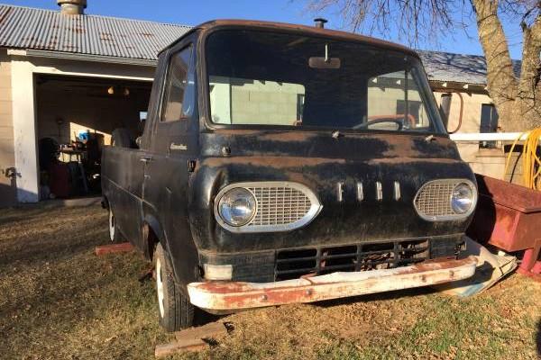 Oddball Hauler 1961 Ford Econoline Truck