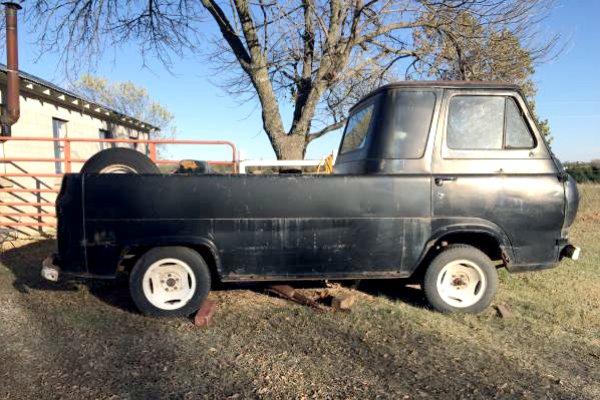 Ford Cargo Van For Sale >> Oddball Hauler: 1961 Ford Econoline Truck
