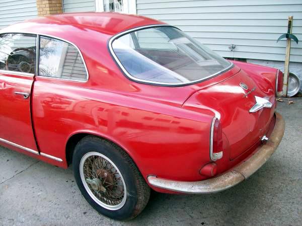 1962 Alfa Romeo Giulietta Veloce