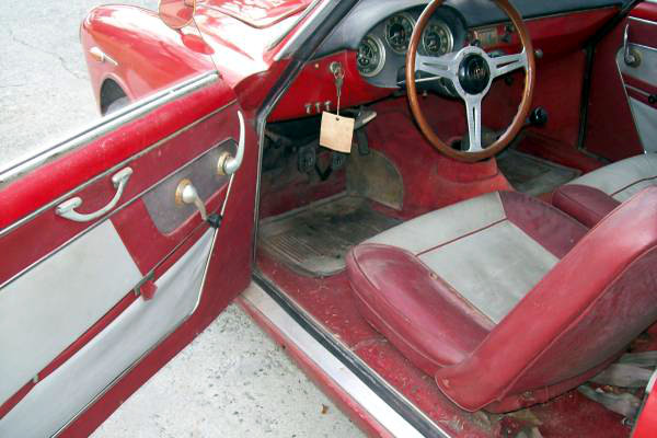 1962 Alfa Romeo Sprint Veloce Interior
