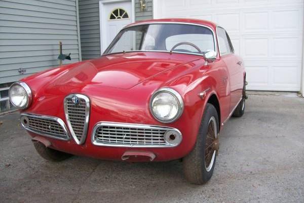 1962 Alfa Romeo Giulietta Sprint Veloce