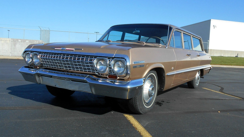 Family Survivor: 1963 Chevy Impala Wagon