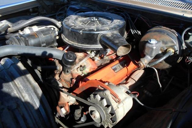 1963 Chevy Impala Wagon Engine
