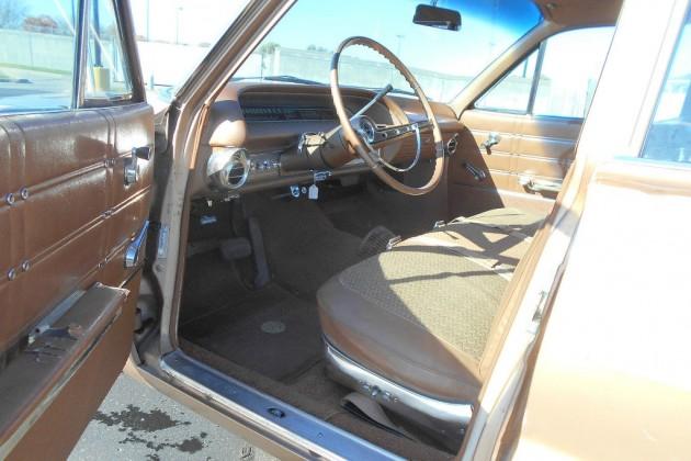 1963 Chevy Impala Wagon Interior