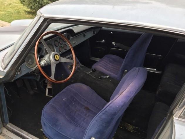 1963 Ferrari 250 GTE Interior