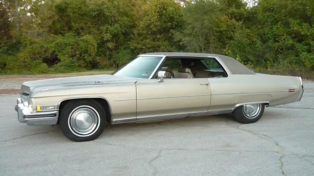 1973 Cadillac Coupe DeVille