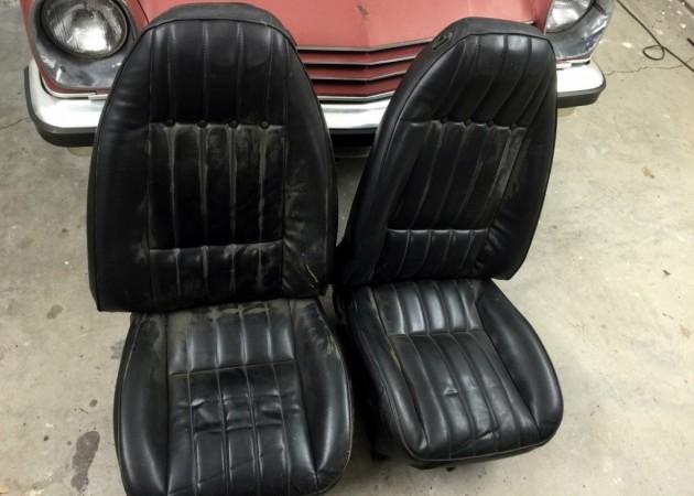 1976 Cosworth Vega Seats