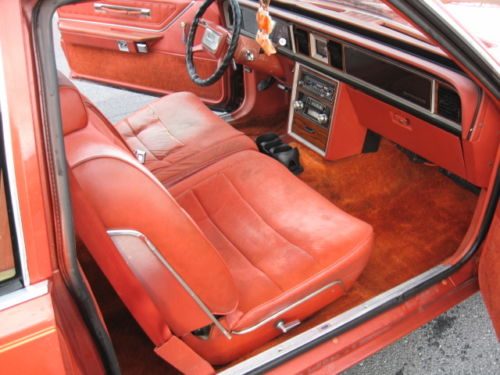 1980 Ford Thunderbird Interior