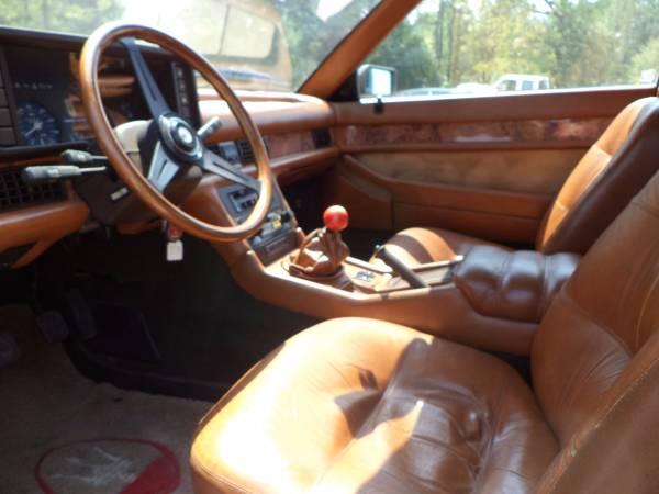 1985 Maserati Bi Turbo E Interior