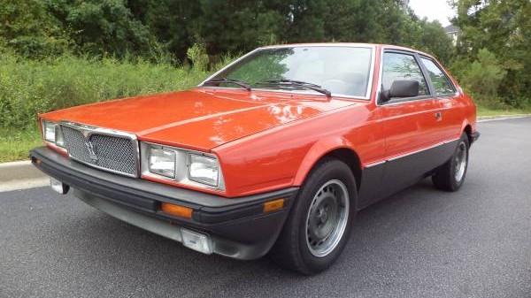 1985 Maserati Bi Turbo E
