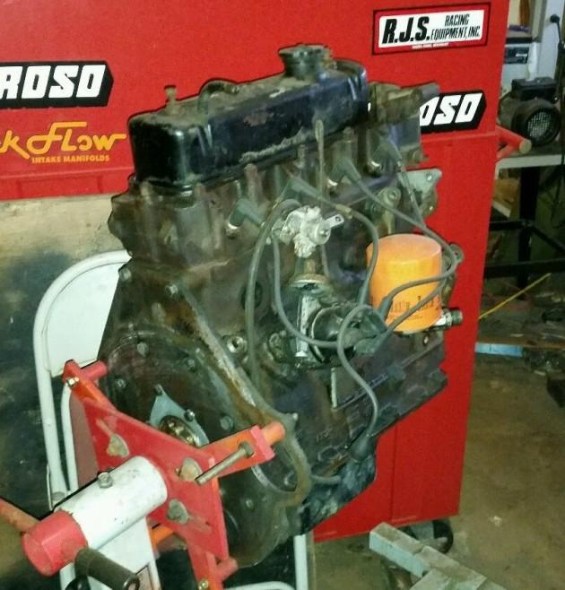 2 MGBS engine 2