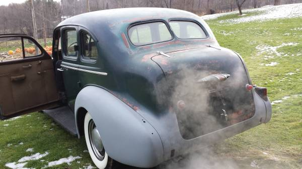 '37 Buick Special running