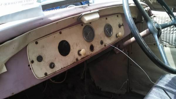 '37 Fiat dash