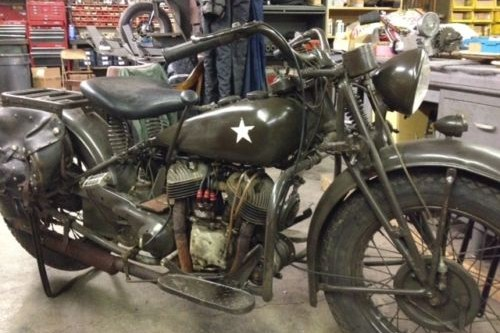 Ride Like The Wind 1941 Indian 741 Military