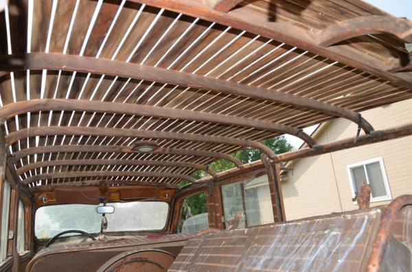 41 Ply roof from inside