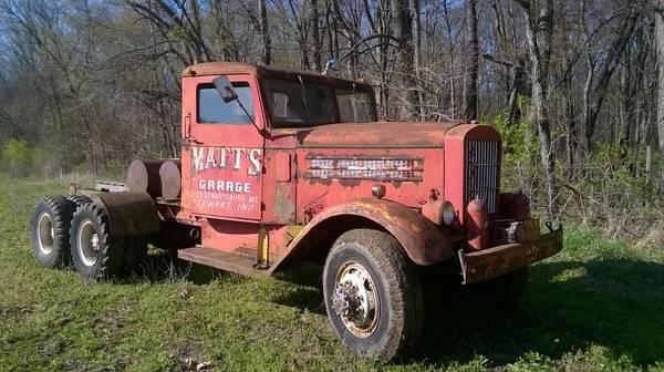 Rare Wrecker 1942 Federal 7 5 Ton 6x6