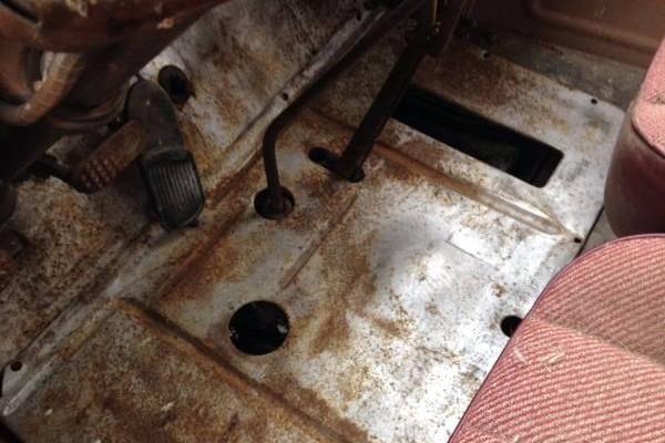'46 Chevy Panel floor boards