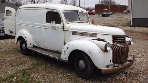 Panel Time 1946 Chevrolet Panel Truck