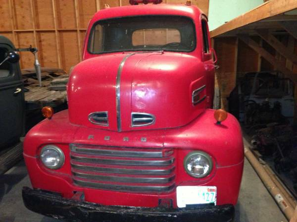 '50 Ford COE front