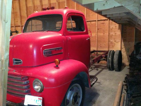 '50 Ford COE left side